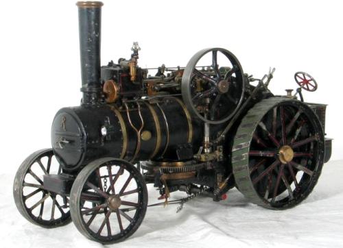 Паровой роторный двигатель